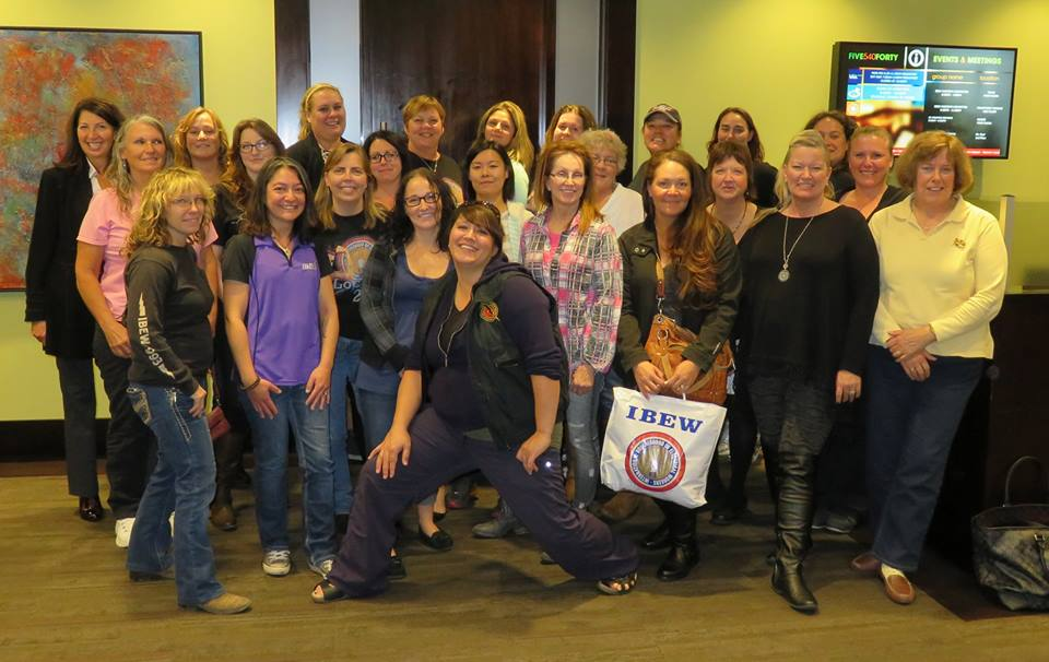 20151020 IBEW Womens Committee Inaugural Meeting 2015