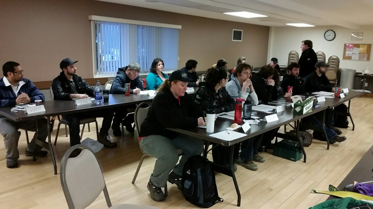 Photos From The Overhead Crane and Rigging Courses in Kitimat