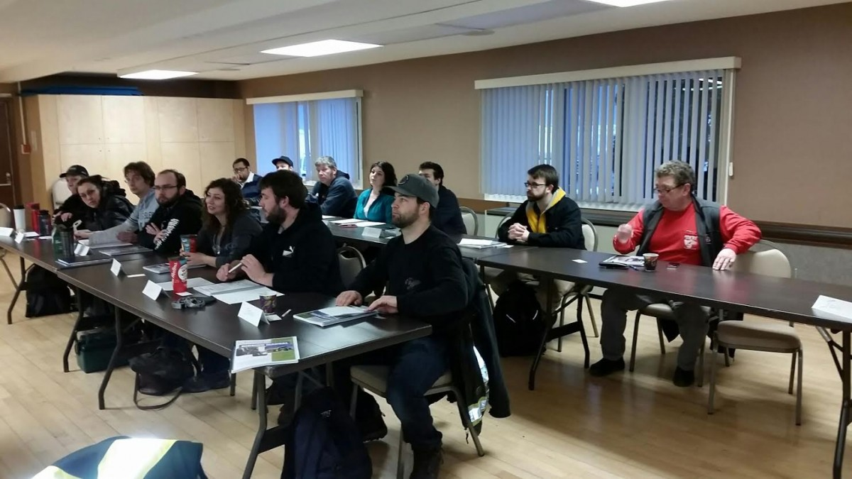 Photos From The Overhead Crane and Rigging Courses in Kitimat 3
