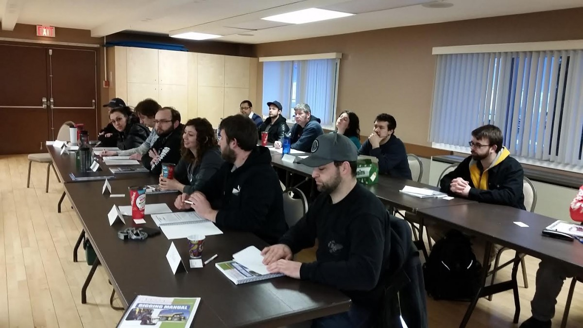 Photos From The Overhead Crane and Rigging Courses in Kitimat 4