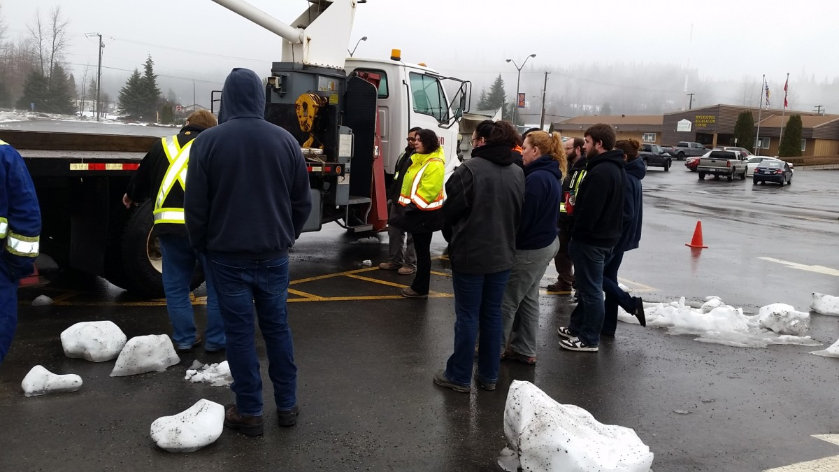 Pictures From The Boomtruck Prep Course in Kitimat