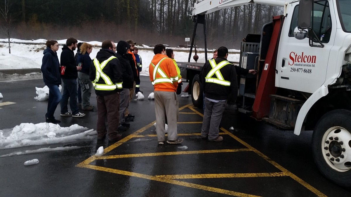 Pictures From The Boomtruck Prep Course in Kitimat 1