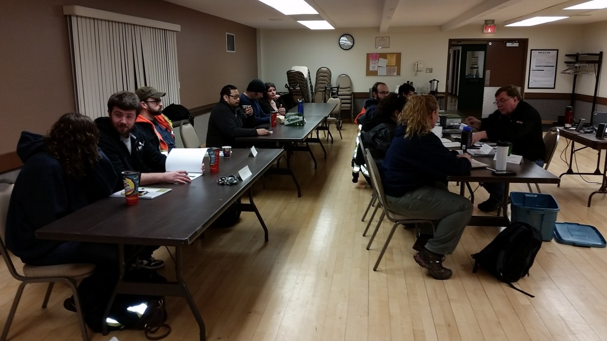 Pictures From The Boomtruck Prep Course in Kitimat 2