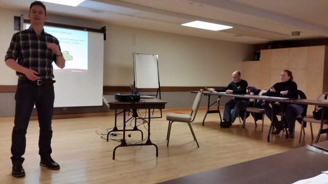 Photos From Frontline Leadership Level 1 in Kitimat on March 12, 2016