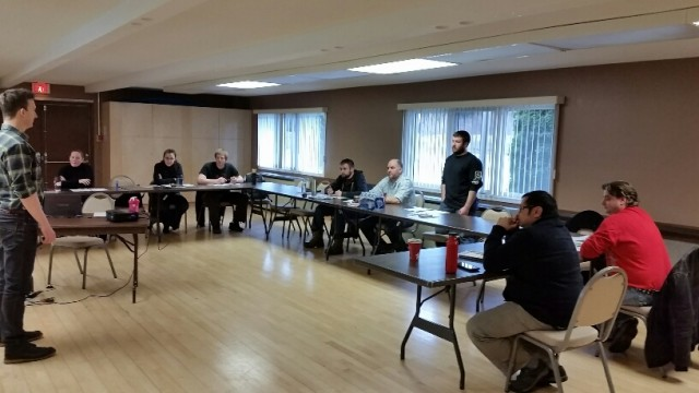 Photos From Frontline Leadership Level 1 in Kitimat on March 12, 2016 6