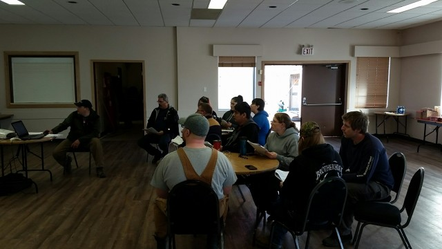 Photos From the Conduit Bending Level 2 Course in Prince George 2