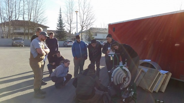 Photos From the Conduit Bending Level 2 Course in Prince George 3