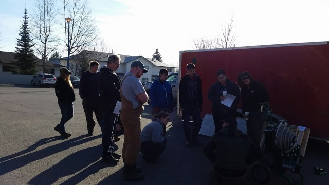 Photos From the Conduit Bending Level 2 Course in Prince George 4