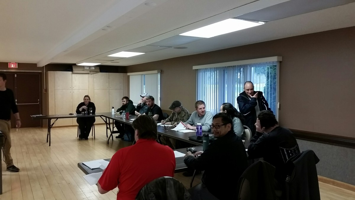 Photos From Front Line Leadership Level 2 in Kitimat 2