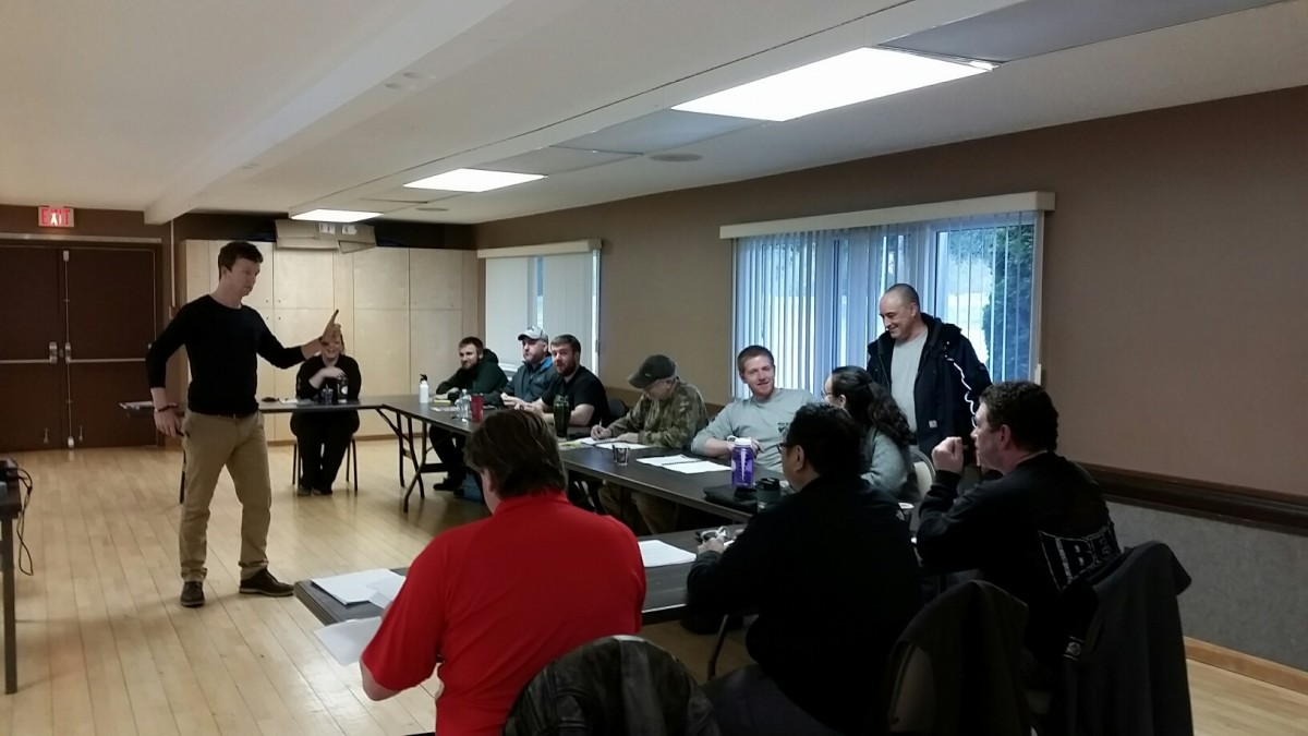 Photos From Front Line Leadership Level 2 in Kitimat 3