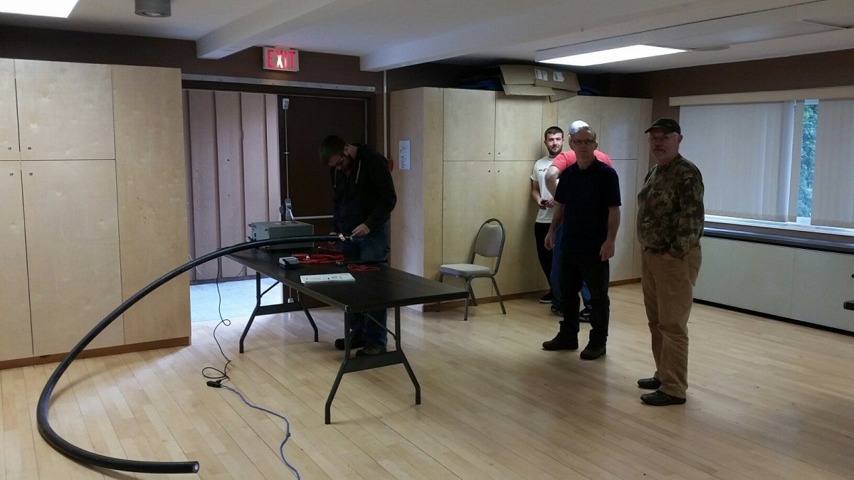 Photos From the QAQC Course in Kitimat 2
