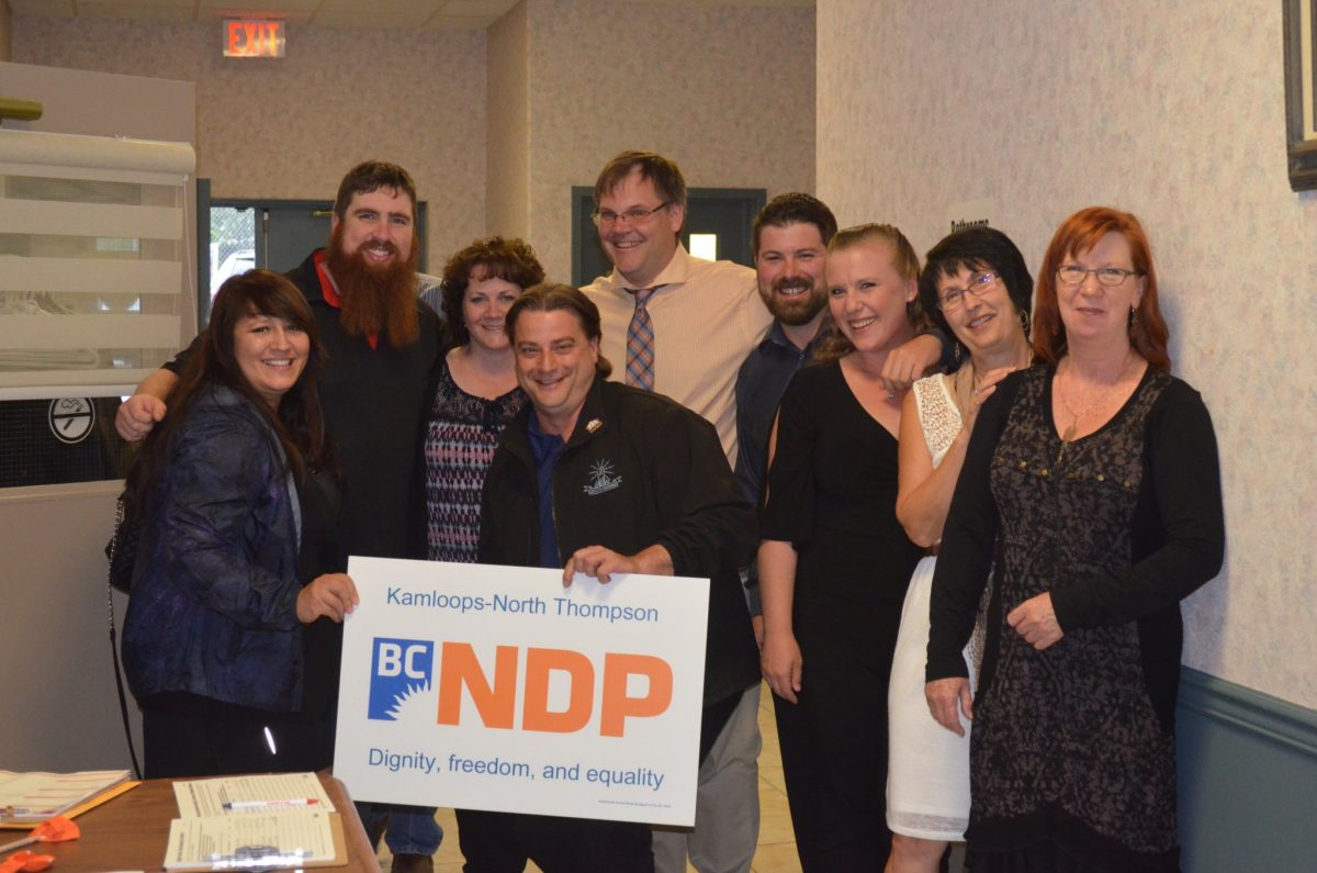 Photo From the Kamloops NDP Fundraiser Dinner