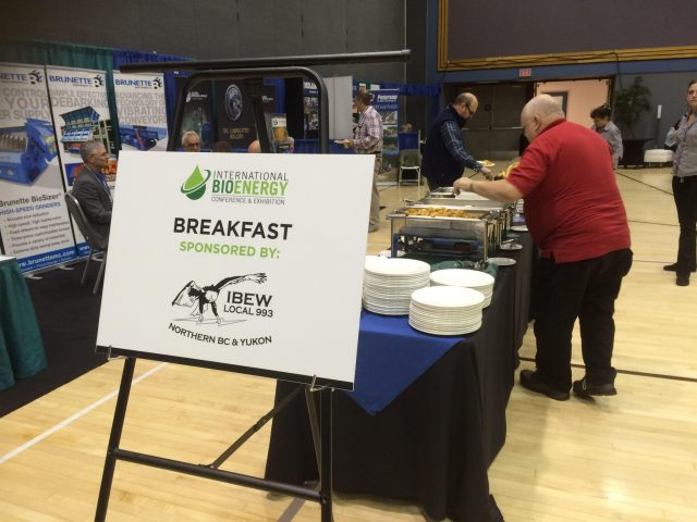 Bio-energy conference in Prince George