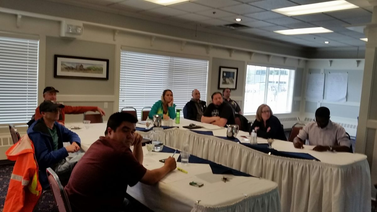 Photos from the Frontline Leadership Course in Whitehorse 7