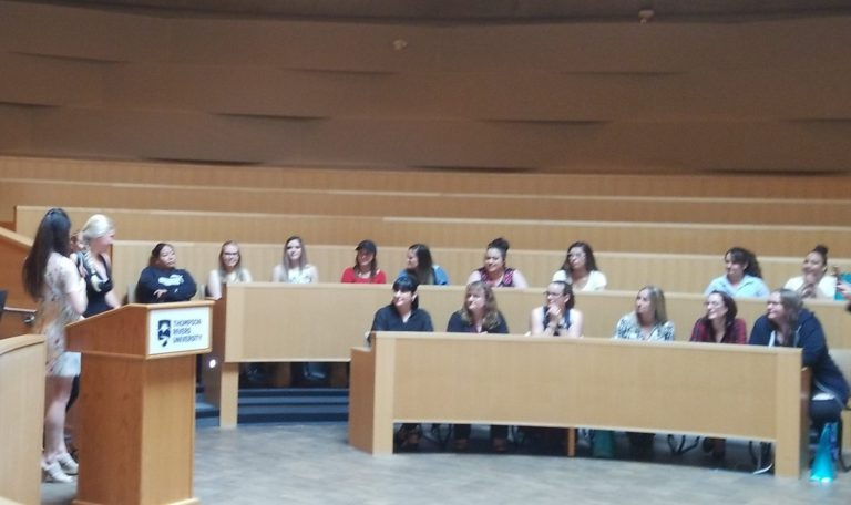 Congratulations to the Graduating Class of the Women in Trades Training at TRU
