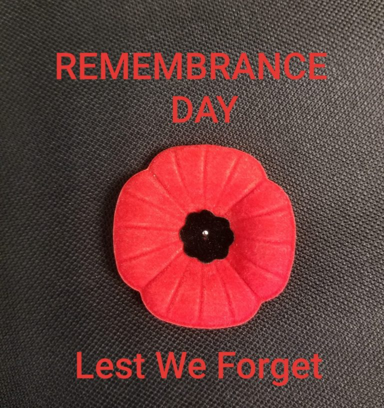 Remembrance Day Ceremony Terrace and Kitimat