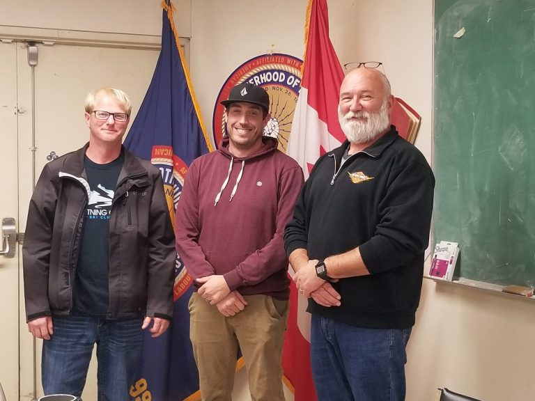 Welcome New members Chad Marple and Lucas Grunet
