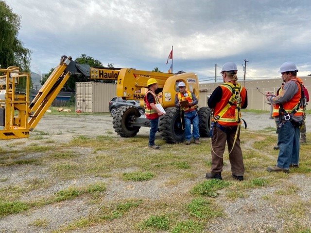 Photos of Aerial Lifts Training