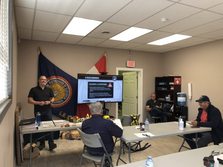 Combo Fall Arrest and AWP course in PG on August 9, 2020