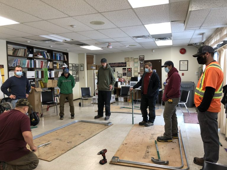 Photos From the Conduit Bending Level 1 Oct 24, 2020 at the Hall in Kamloops