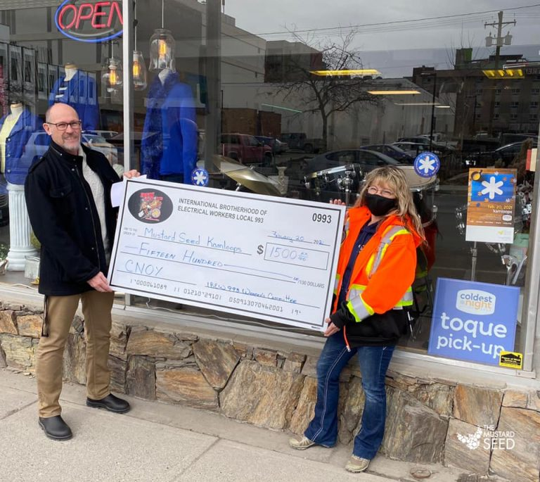 Coldest Night of the Year Donation